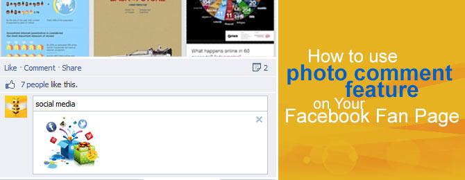 Facebook photo comment feature