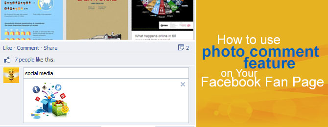 Facebook photo comment feature